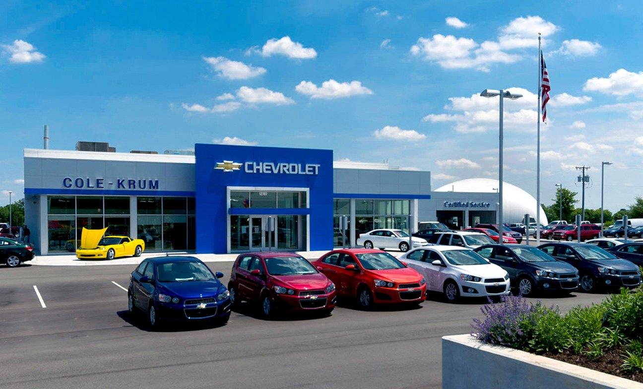 Commercial Cole Krum Chevrolet Dealership Banner