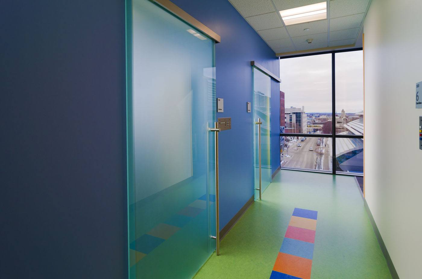 Healthcare Peds Op Hallway
