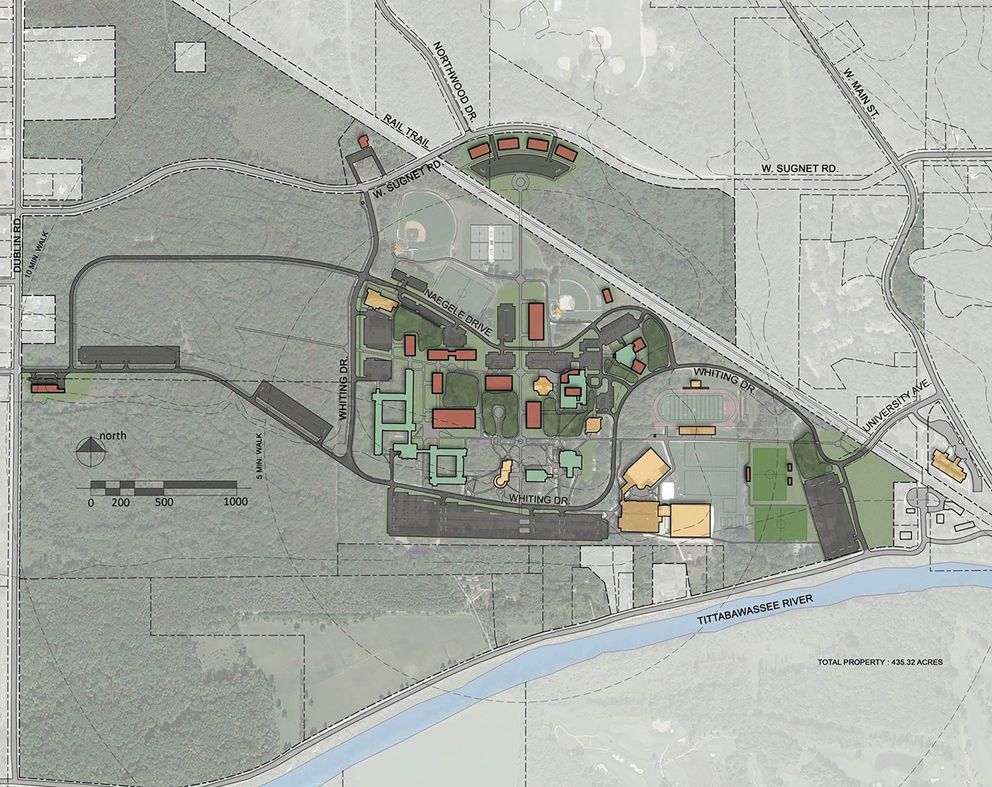 HigherEd Northwood University Master Plan