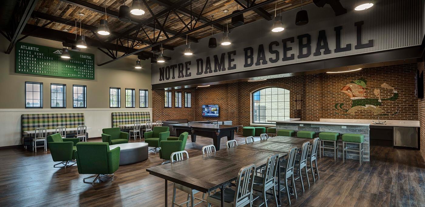 HigherEd Notre Dame Baseball Banner