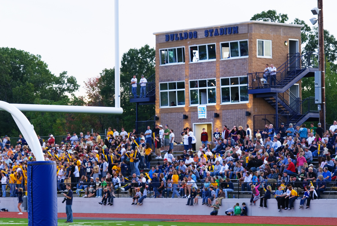 Stadium with Fans